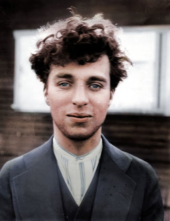 Charlie Chaplin at 27 years old in 1916.