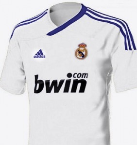 Real Madrid Adidas Home Jersey 2012 2013