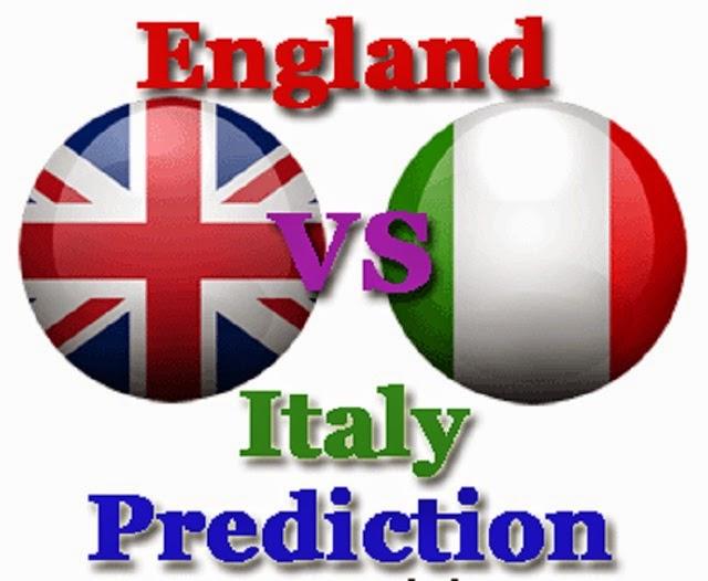 Prediksi Skor Inggris vs Italia Piala Dunia 15 Juni 2014