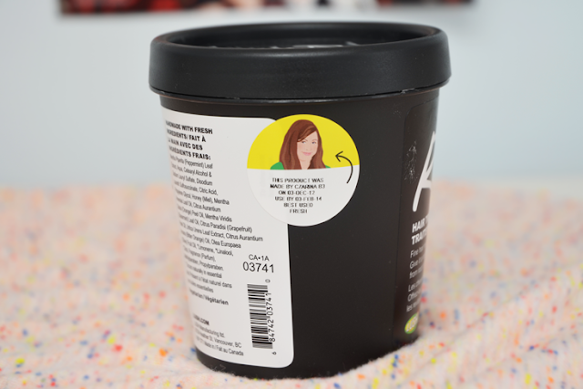 lush cosmetics roots hair treatment mask