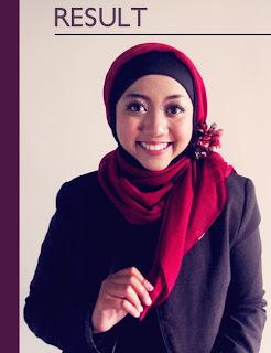 Cara Memakai Jilbab Paris Yang Benar