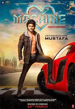 Machine 2017 Hindi Movie HD DVD Quality Free Download 720P at xcharge.net