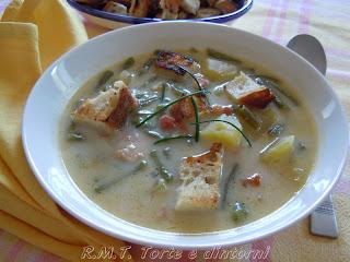 Bouneshclupp - Zuppa di fagiolini