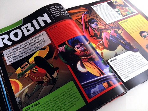 encyclopedie batman robin