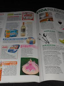 Os meus bolinhos em destaque na revista cozinha Mulher Moderna..