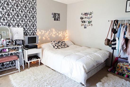 fio de luz, pisca pisca, luz de Natal, christmas light, Natal, decoração de quarto, quarto, decoração, bedroom, diy, faça você mesmo, cabeceira