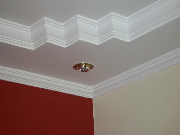 decoracao teto banheiro:Molduras De Gesso