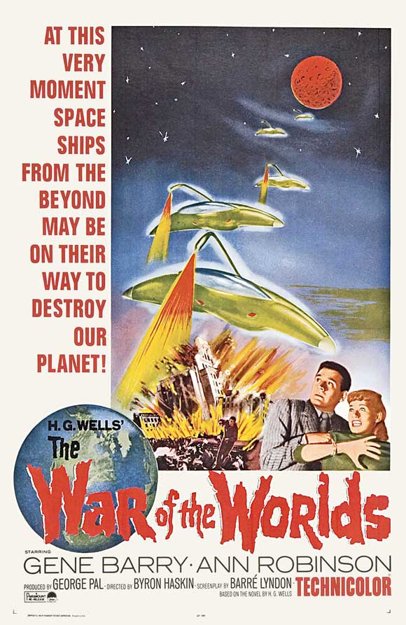 war of the worlds 1953 aliens. worlds 1953 aliens. war of