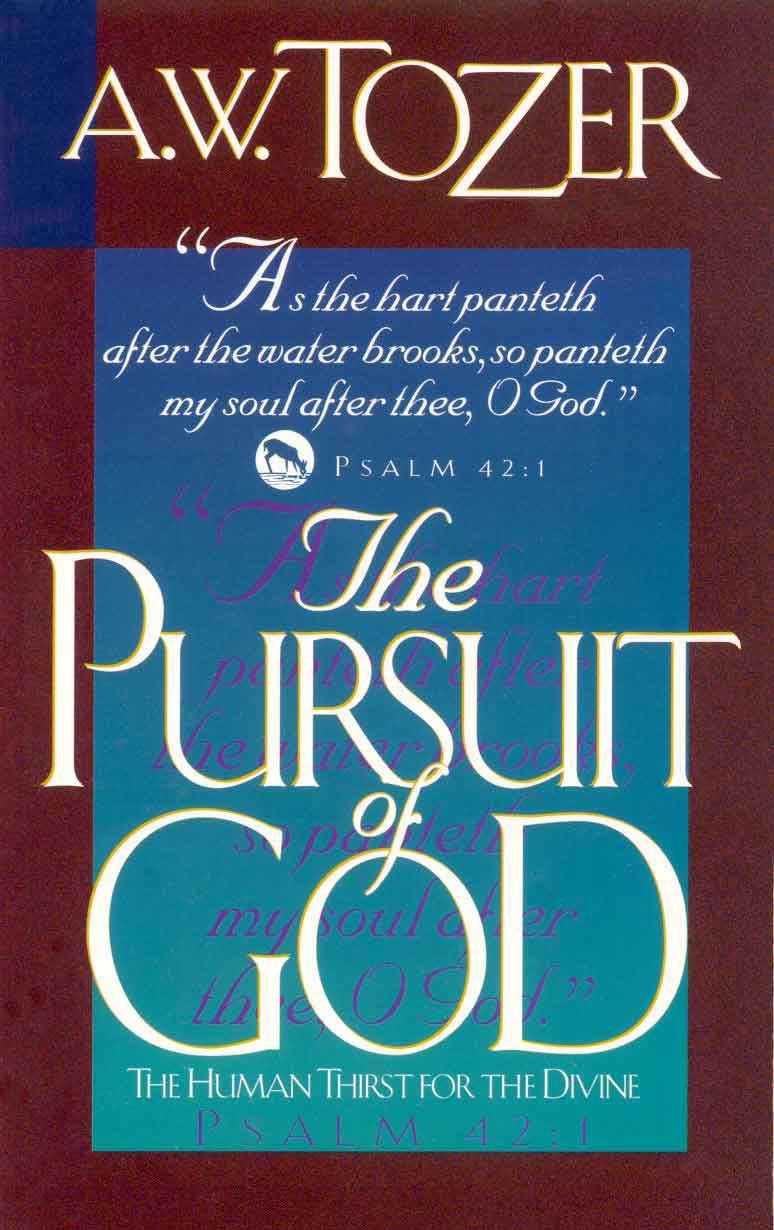 Image result for god's pursuit of man tozer pdf