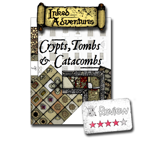 Frugal GM Review: Inked Adventures Crypts, Tombs, & Catacombs