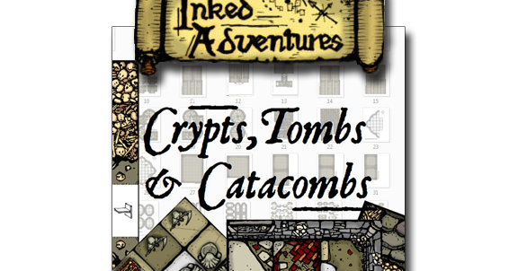 Inked Adventures Crypts, Tombs, & Catacombs