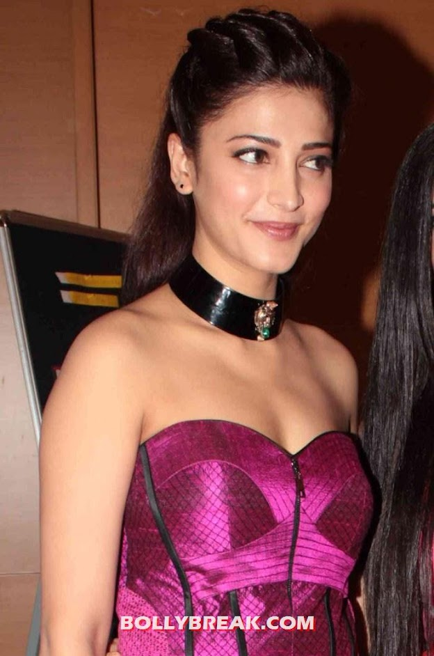 Shruti Hassan in pink dress at lakme fashion week - Shruti Hassan in Pink Dress at Lakme Fashion Week