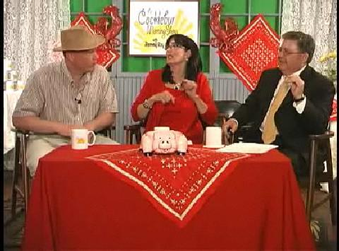 """Elmer Plow Promotes His """"Sounds of the Barn Yard Exhibit"""" on The Cocklebur Morning Show"""
