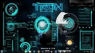 Tron Legacy ( 3D Dekstop )