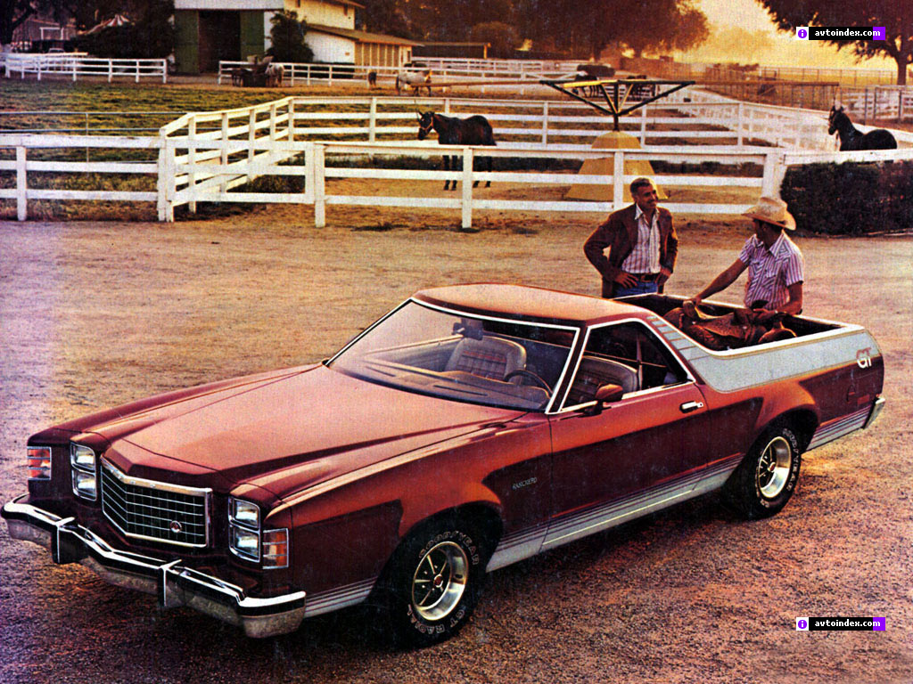 To spark sales the boys in marketing field tested a limited production package a very small number of these rancheros were built and sent out to dealers at