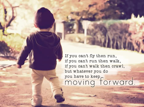 strong enough life moving forward