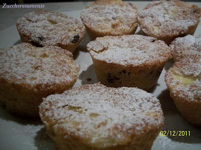 Muffin mele e uvetta