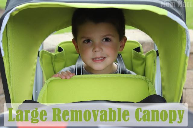 Joovy Caboose Too Ultralight Stroller Canopy