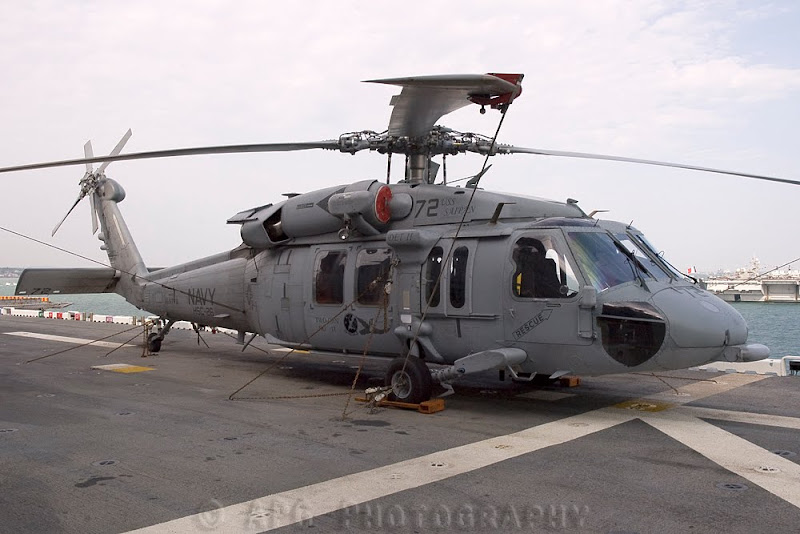 MH-60S Knighthawk US Navy Helicopter