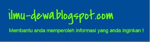 ilmu-dewa.blogspot.com: Cara Mudah Membuat Website Sendiri