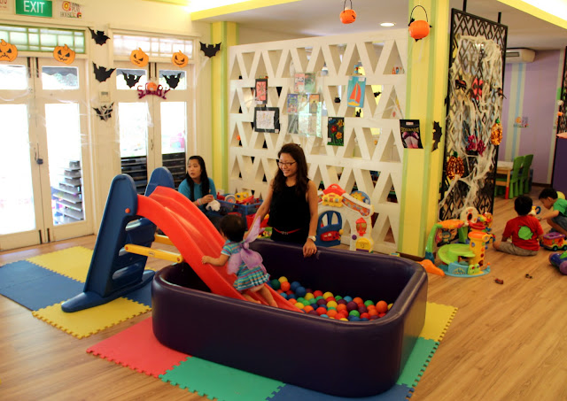 Cheekiemonkies singapore parenting lifestyle blog 100 for Activity room decoration