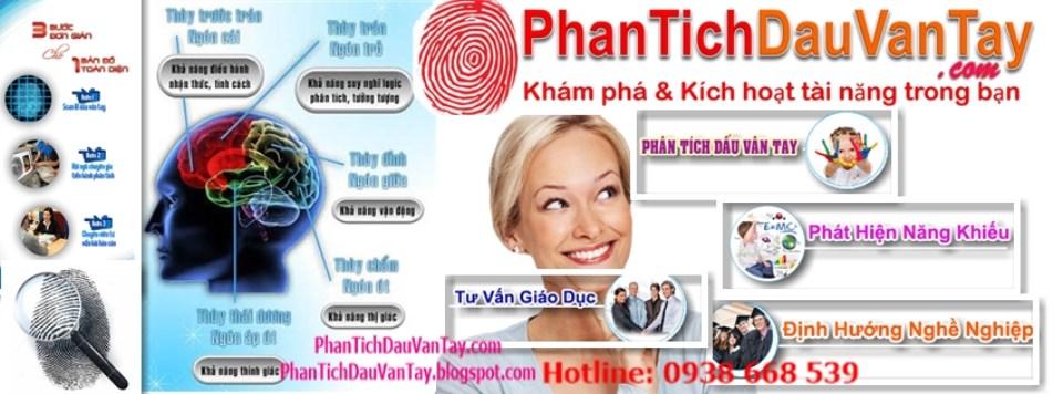 Phân Tích Dấu Vân Tay I-Talents | 0938 668 539