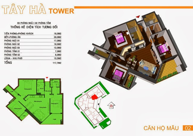 Chung Cư Tây Hà Tower, chung cu tay ha tower, 07