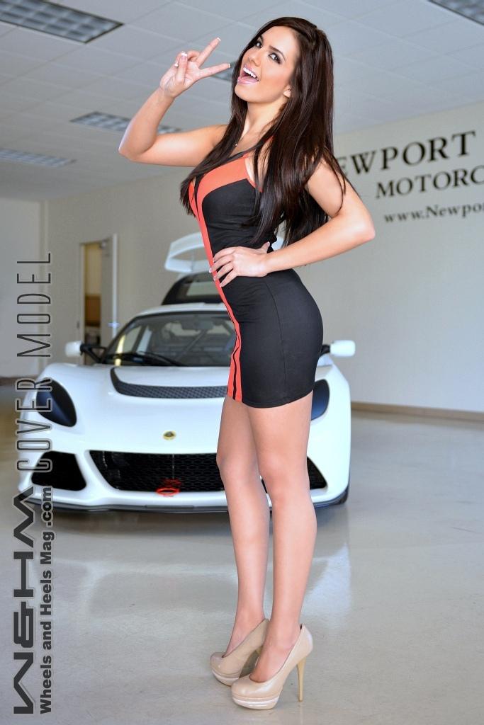 w u0026hm    wheels and heels magazine  w u0026hm cover model