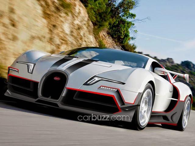 Inilah Buggati Veyron !