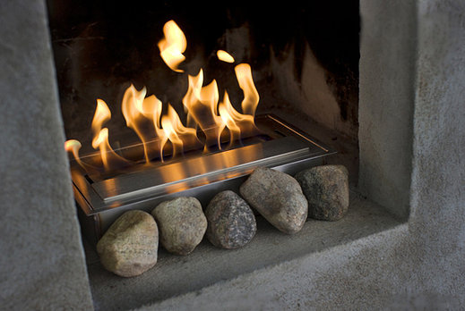 Eco hogares calefacci n con dise o modelos de - Estufas de etanol ...