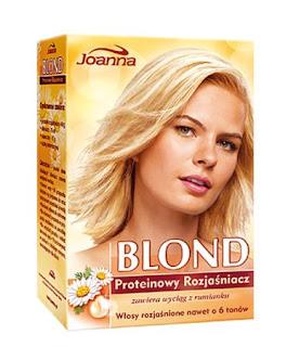 Proteinowy rozjaśniacz do włosów Joanna