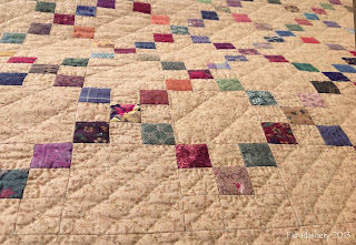 Irish Chain Patchwork Quilt