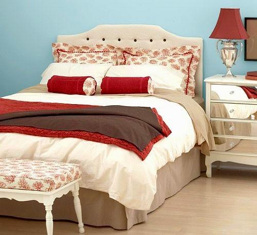 DIY Fabric Project Idea for Bedroom