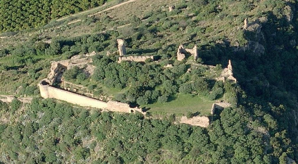 Recinte del castell de Bairén