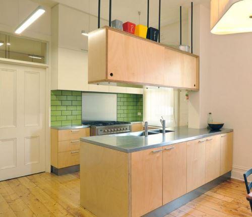 Inspirasi desain interior dapur minimalis dan sederhana Rancangan Desain Interior Dapur Sederhana