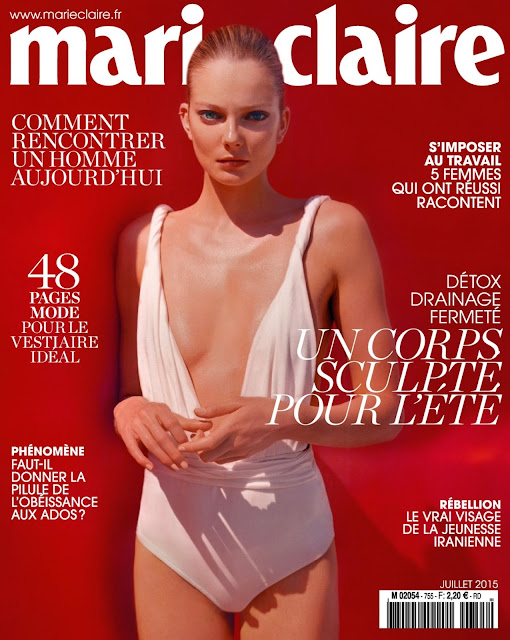 Fashion Model @ Eniko Mihalik - Marie Claire France, July 2015