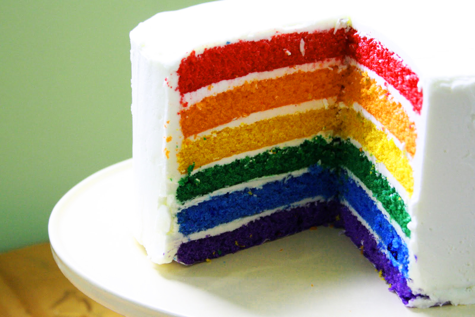 rainbow cake wallpaper rainbow cake 1600x1067