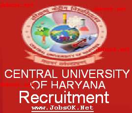 CENTRAL UNIVERSITY OF HARYANA Recruitment 2014, HARYANA UNIVERSITY jobs 2014