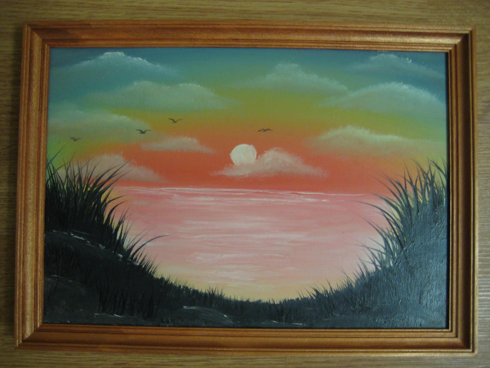 Как нарисовать пейзаж