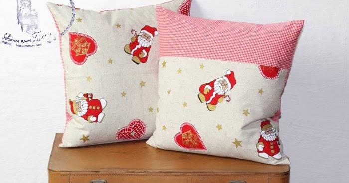 frau pastellino n hen f r weihnachten diy eine kissenh lle mit versteckten rei verchluss. Black Bedroom Furniture Sets. Home Design Ideas