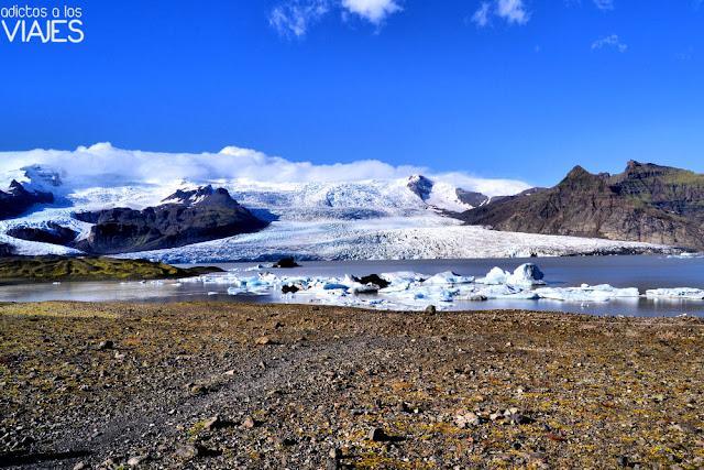 Glaciar Fjallsárlón
