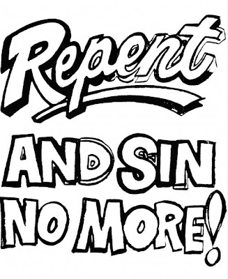 Repent and Sin No More Paint