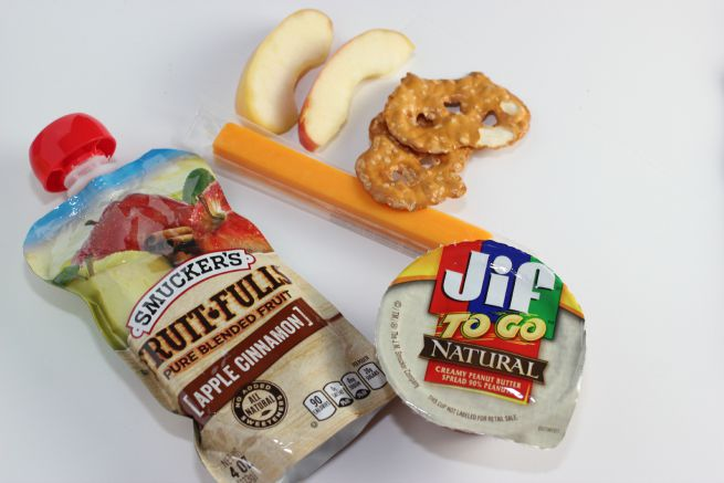 Snack box ideas.  Perfect for families on the go