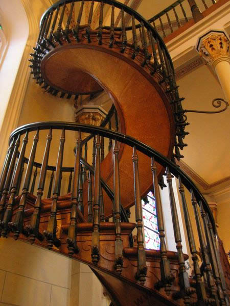 Loretto Chapel Stair
