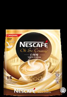 Nescafe White Coffee Oh so creamy