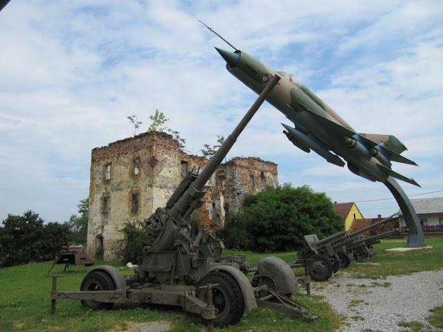Mig 21 bis que había servido en el 117 regimiento de las fuerzas aéreas de la JNA