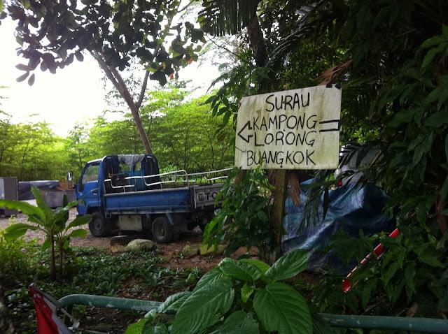 Last kampong Singapore buangkok