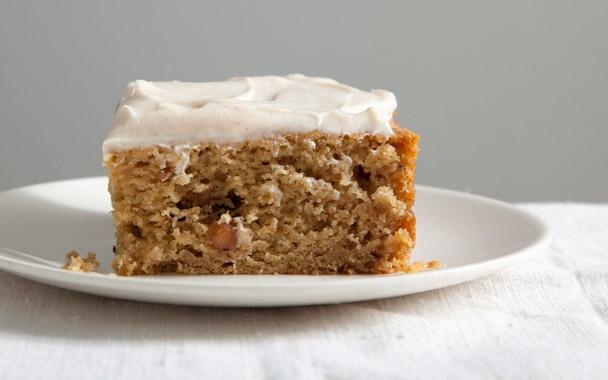 Splendid Sass: SPICED APPLESAUCE CAKE WITH CINNAMON CREAM ...