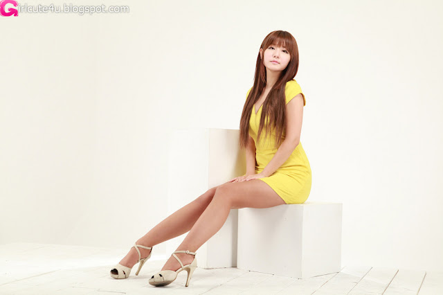 7 Ryu Ji Hye in Yellow-very cute asian girl-girlcute4u.blogspot.com