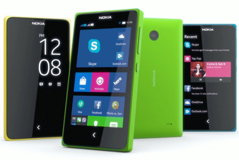 Nokia X Series Android Smartphone